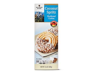 Deutsche Küche Spritz Cookies Coconut
