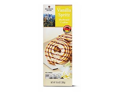 Deutsche Küche Spritz Cookies Vanilla