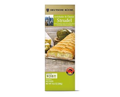 Deutsche Küche Artichoke & Cheese Savory Strudel View 1