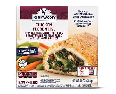 Kirkwood Stuffed Chicken Florentine