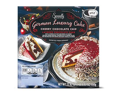 Specially Selected Assorted Mousse Cake Cherry Chocolate Chip