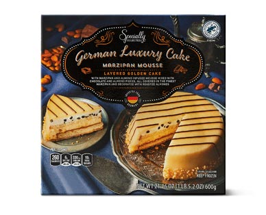 Specially Selected Assorted Mousse Cake Marzipan