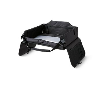 Auto XS Portable Travel and Game Table Black