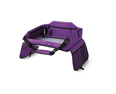 Auto XS Portable Travel and Game Table Purple