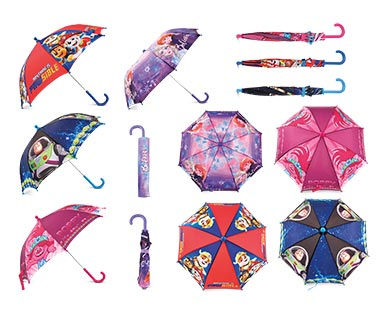 Children's Character Umbrella PawSible, Toy Story 4 and Trollz