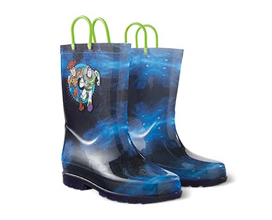 Children's Light-Up Rain Boots Toy Story 4