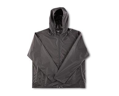 Crane Adult Packable Rain Jacket Black