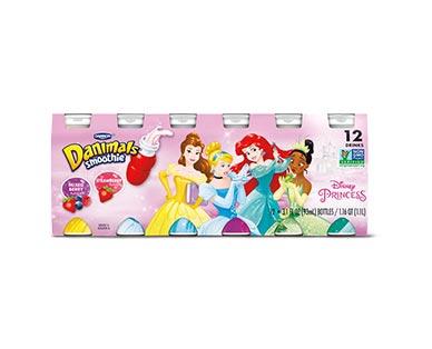 Dannon Danimals Disney Princesses 12 pk