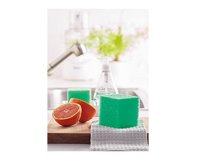Easy Home Square Scrubber Green In Use