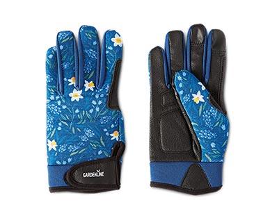 Gardenline Touchscreen Gardening Gloves Blue View 1
