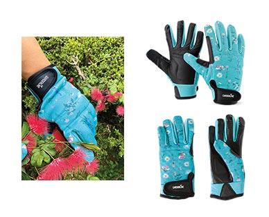 Gardenline Touchscreen Gardening Gloves Green