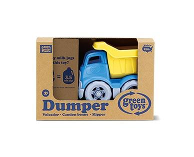 Green Toys Eco-Friendly Toddler Trucks Blue Dumper