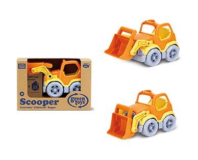 Green Toys Eco-Friendly Toddler Trucks Orange Scooper