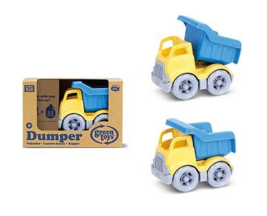 Green Toys Eco-Friendly Toddler Trucks Yellow Dumper