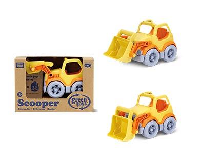Green Toys Eco-Friendly Toddler Trucks Yellow Scooper