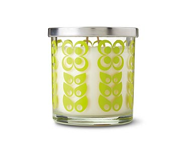 Huntington Home Natural Geometrics Candle Collection Melon Spritzer