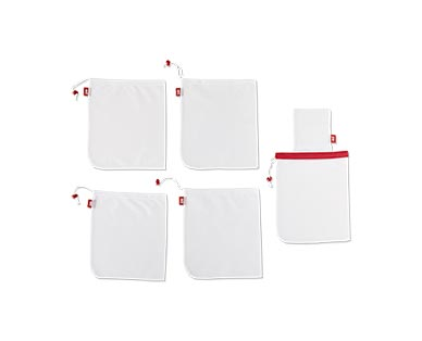 Joie Reusable Produce Bag Set White/Red