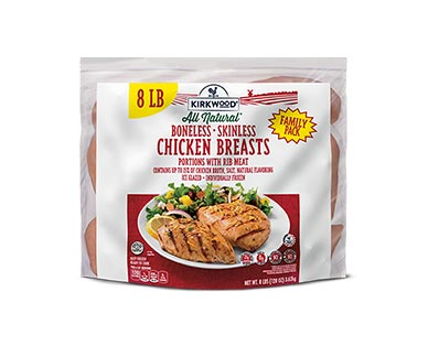 Kirkwood 8 lb. IQF Chicken Breasts