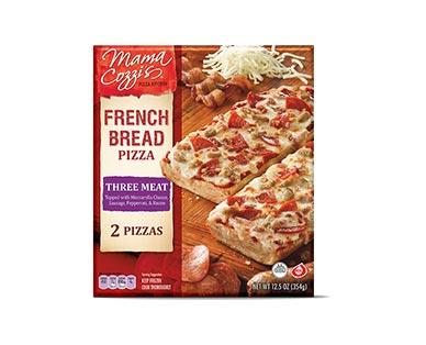 Mama Cozzi'sPizza Kitchen Three-Meat French Bread Pizza