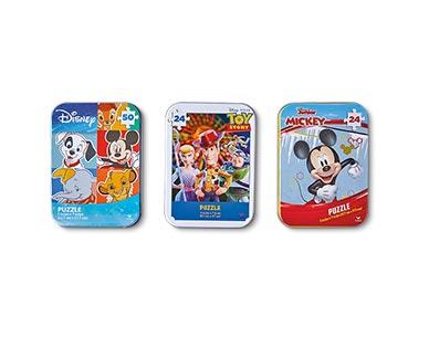 Spin Master 3-Pack Tin Puzzles Disney Boys