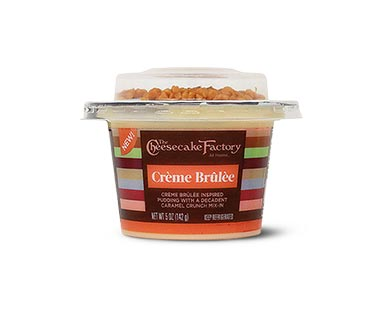 The Cheesecake Factory Creme Brulee Mix-In Desserts