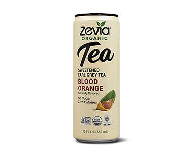Zevia Organic Tea Assorted Varieties Blood Orange