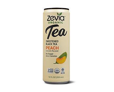 Zevia Organic Tea Assorted Varieties Peach