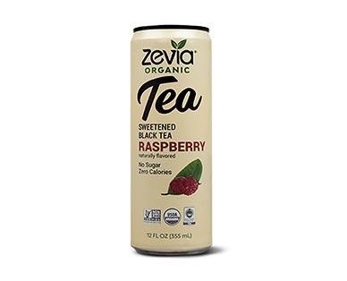 Zevia Organic Tea Assorted Varieties Raspberry