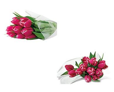 10-Stem Tulip Bouquet Assorted Colors View 2