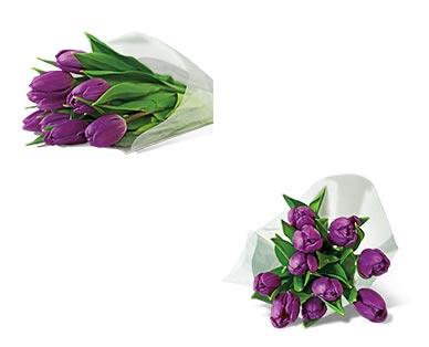 10-Stem Tulip Bouquet Assorted Colors View 4