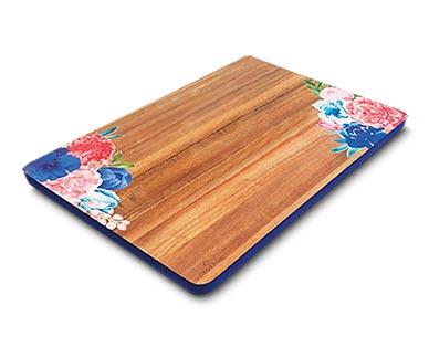 Crofton Painted Acacia Wood Board View 1
