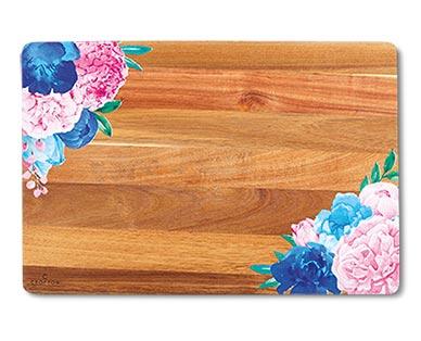 Crofton Painted Acacia Wood Board View 2