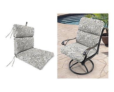Belavi Chair Cushion Adair Gray In Use