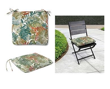 Belavi Seat Pad Wesley Tropical In Use