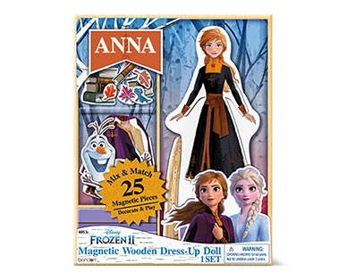 Bendon 25-Piece Magnetic Dress-Up Doll Anna
