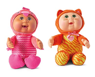 Cabbage Patch Kids Exotic Friends Rosalie Flamingo and Nina Kitty