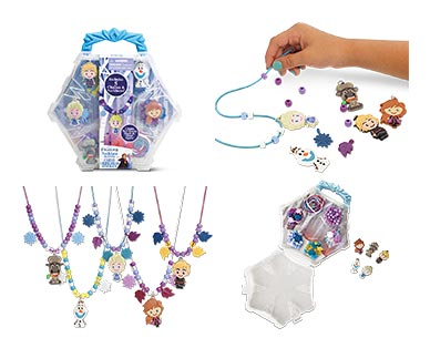 Disney or Universal Necklace Activity Set Frozen 2 In Use