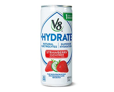 V8 Hydrate Strawberry Cucumber View 1