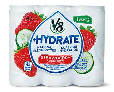 V8 Hydrate Strawberry Cucumber View 2