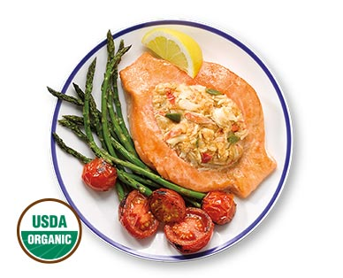 Fresh Stuffed Atlantic Salmon