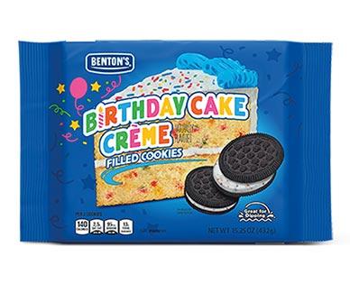 Benton's Chocolate BirthdayCake Cremes