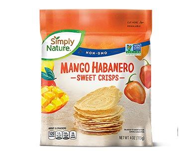 Simply Nature Sweet Crisps Mango Habanero