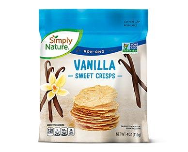 Simply Nature Sweet Crisps Vanilla