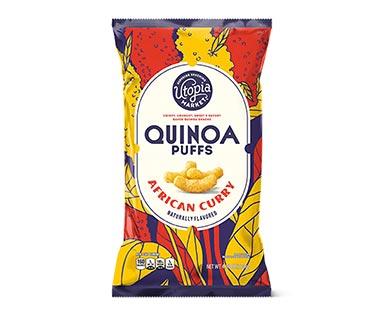 Utopia Market African Curry Quinoa Puffs