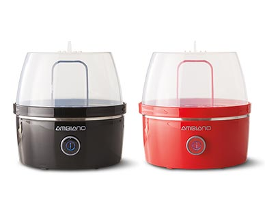 Ambiano Egg Cooker Black and Red View 1