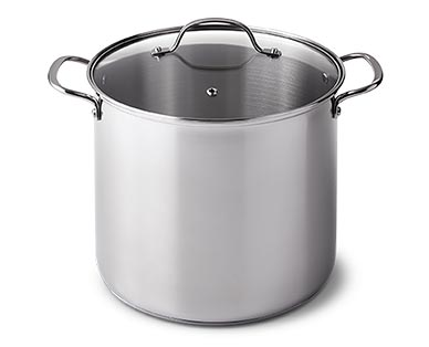 Crofton Chef's Collection 12-Quart Stainless Steel Stock Pot View 1