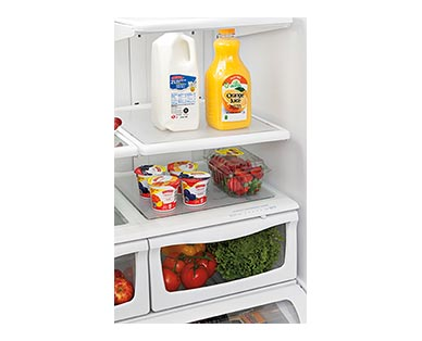 Easy Home Plastic Fridge Liners In Use View 3
