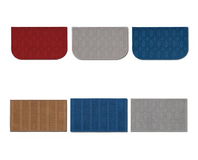 """Huntington Home 20"""" x 34"""" Kitchen Accent Rug Red, Gray, Blue and Tan View 1"""