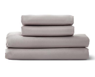 Huntington Home 500 Thread Count Anti-Allergen Sheet Set Gray