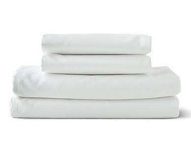 Huntington Home 500 Thread Count Anti-Allergen Sheet Set White